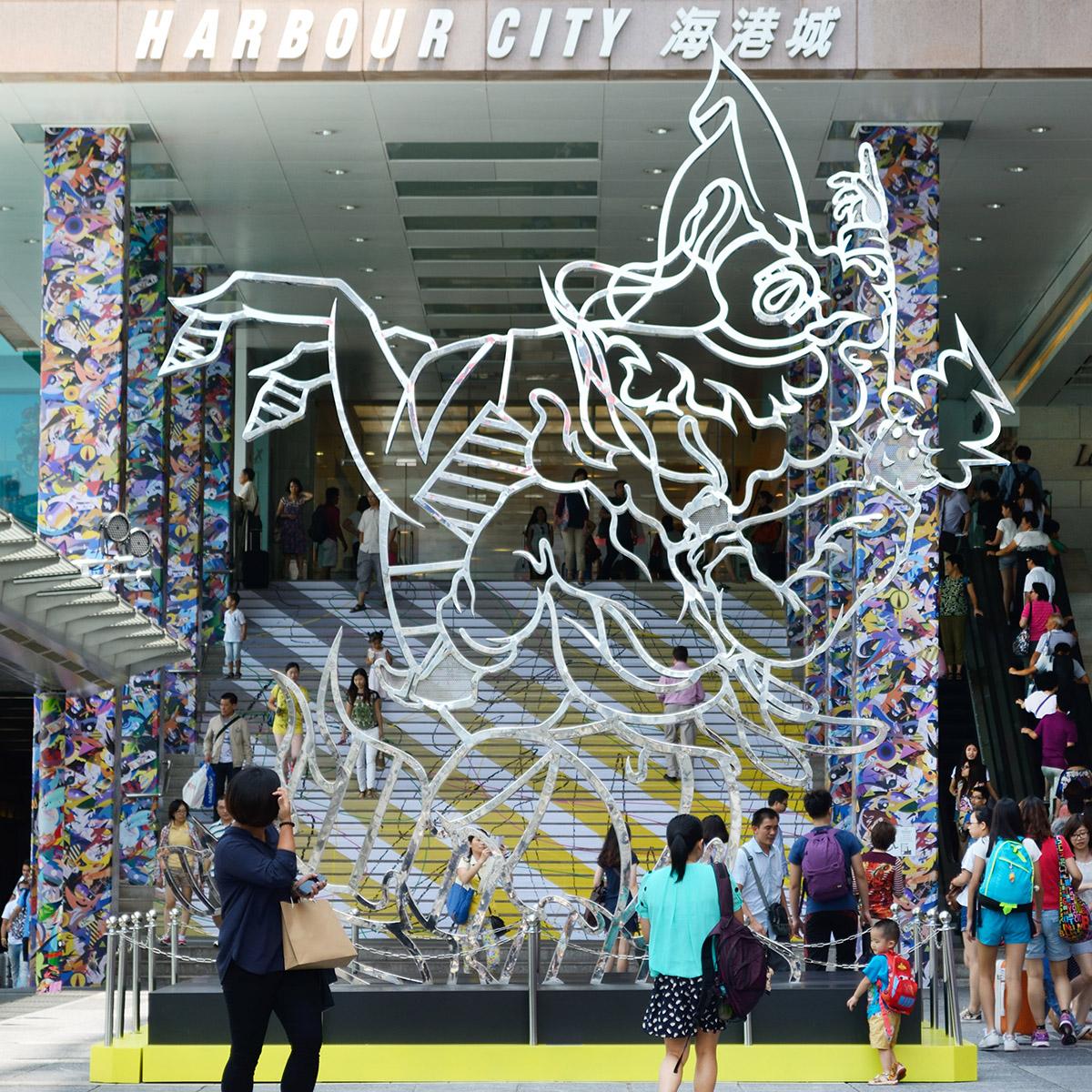 Harbour City彫刻